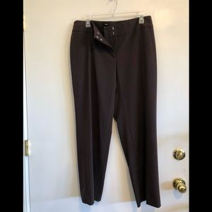Style and Co, women's brown, 14P, straight leg